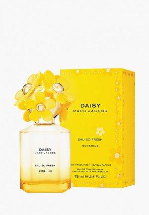 Туалетная вода Marc Jacobs Daisy Eau So Fresh Sunshine, 75 мл. Цвет: желтый