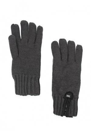 Перчатки Colins Colin's. Цвет: серый