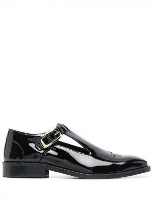 Туфли монки Ernest W. Baker. Цвет: черный