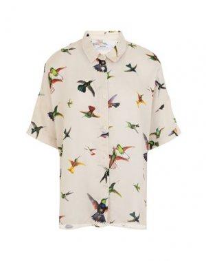 Pубашка DEDICATED.. Цвет: бежевый