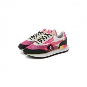 Кроссовки SEGA Future Rider PS Puma. Цвет: розовый