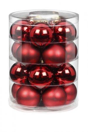 Елочные шары Magic Christmas. Цвет: красный