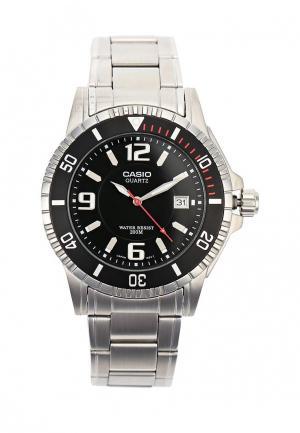 Часы Casio Collection MTD-1053D-1A. Цвет: серебряный