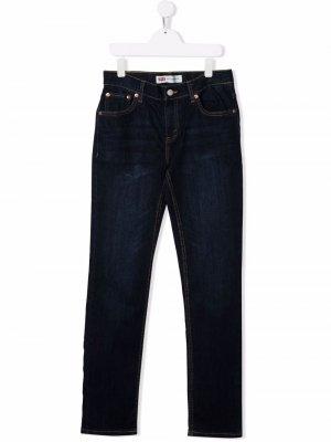 Levis Kids джинсы прямого кроя Levi's. Цвет: синий