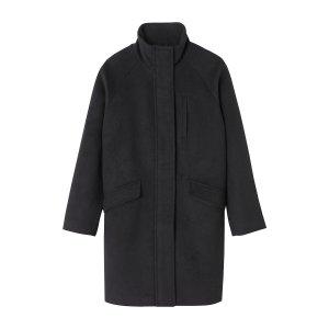 Пальто LaRedoute. Цвет: черный