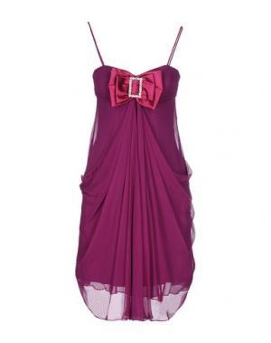 Короткое платье LEXUS. Цвет: розовато-лиловый