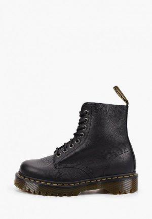 Ботинки Dr. Martens 1460 Pascal Bex-8 Eye Boot. Цвет: черный