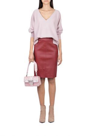 Пуловер MAX & MOI. Цвет: розовый