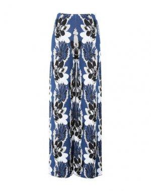 Повседневные брюки GIULIA ROSITANI. Цвет: синий