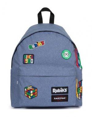 Рюкзаки и сумки на пояс EASTPAK. Цвет: пастельно-синий