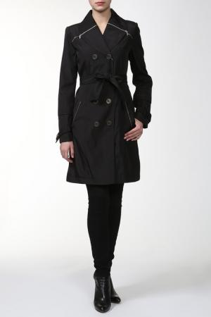 Пальто Алиса. Цвет: черный
