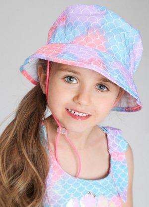 Панама для девочек O`Stin. Цвет: холодный розовый