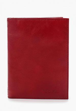 Обложка для документов Kofr. Цвет: красный