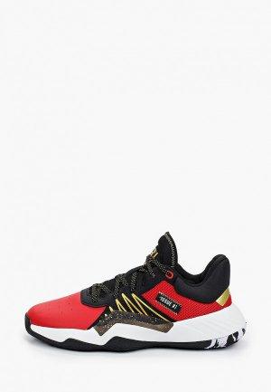Кроссовки adidas D.O.N. Issue 1. Цвет: красный