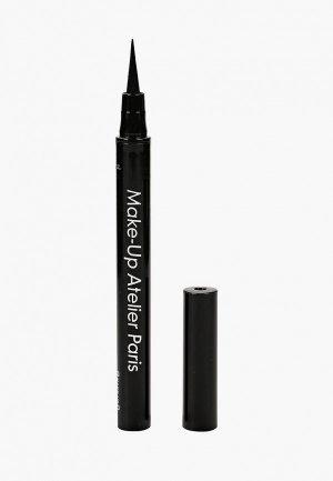 Подводка для глаз Make-up Atelier Paris. Цвет: черный