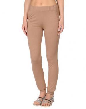 Пляжные брюки и шорты TWINSET. Цвет: хаки