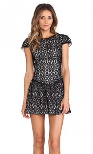Платье bianca Boulee. Цвет: черный