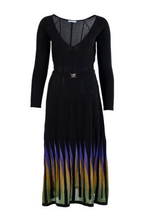 Платье Versace Collection. Цвет: черный