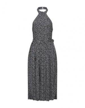 Платье до колена GLAMOROUS. Цвет: черный