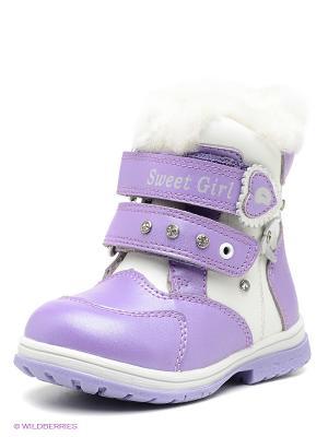 Ботинки Dummi. Цвет: сиреневый