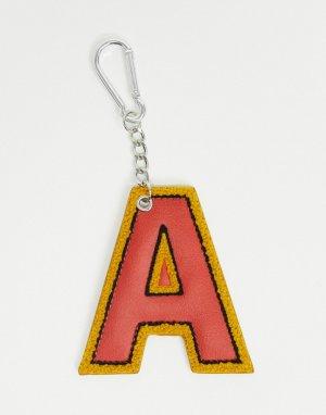 Брелок A с зажимом -Красный ASOS Actual