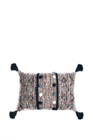 Подушка декоративная, 40х60 Tkano. Цвет: красный, белый, синий