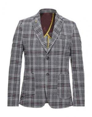 Пиджак BERNA. Цвет: светло-серый