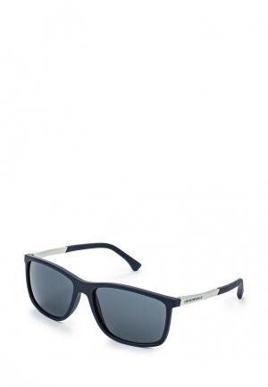 Очки солнцезащитные Emporio Armani EA4058 547487. Цвет: синий