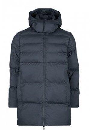 Куртка EA7. Цвет: синий