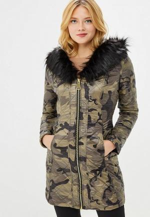 Куртка утепленная Met ME486EWCSUF5. Цвет: хаки