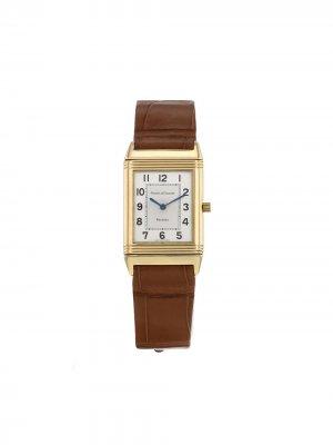 Наручные часы Reverso pre-owned 23 мм 2000-х годов Jaeger-LeCoultre. Цвет: золотистый