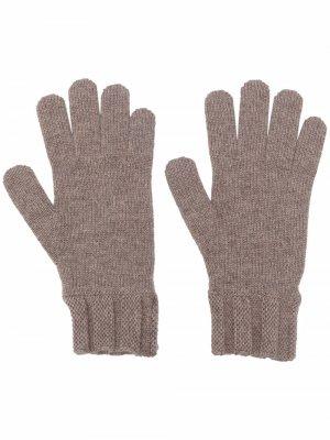 Кашемировые перчатки Woolrich. Цвет: нейтральные цвета