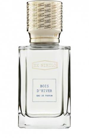 Парфюмерная вода Bois DHiver Ex Nihilo. Цвет: бесцветный