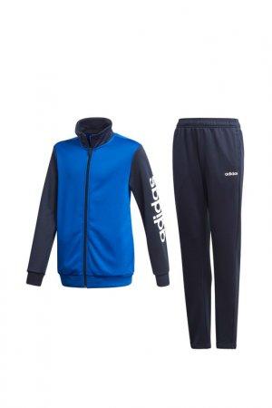 Костюм Adidas YB TS PES. Цвет: синий