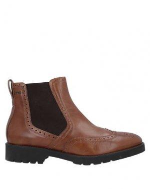 Полусапоги и высокие ботинки NERO GIARDINI. Цвет: верблюжий