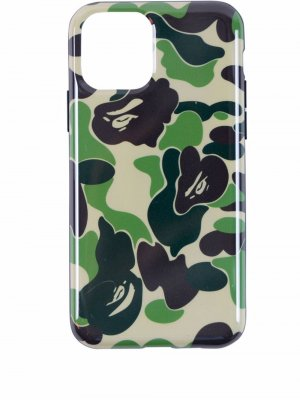 Чехол ABC Camo для iPhone 11 A BATHING APE®. Цвет: зеленый