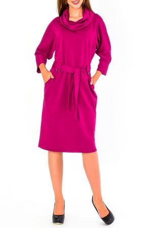 Платье S&A style. Цвет: фуксия