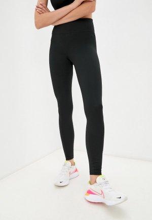 Тайтсы Nike W NK ONE DF ICNCLSH GX MR TGT. Цвет: черный