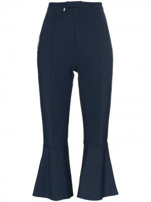 Укороченные брюки клеш x RBN средней посадки Bjorn Borg. Цвет: синий