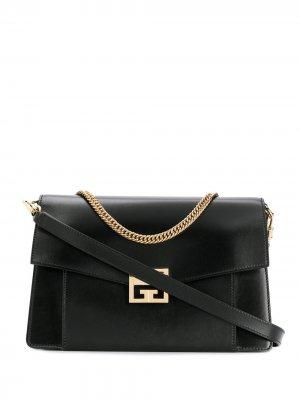 Маленькая сумка-тоут Givenchy. Цвет: черный