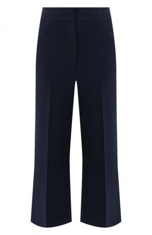 Укороченные брюки St. John. Цвет: синий