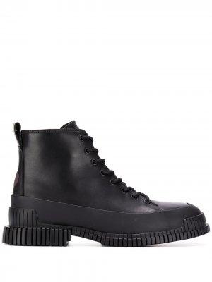 Pix lace-up boots Camper. Цвет: черный