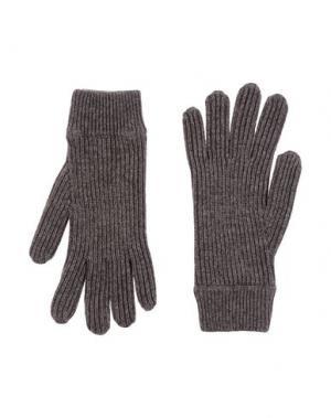 Перчатки MALO. Цвет: хаки