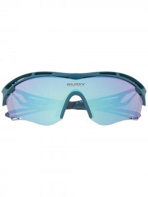 Солнцезащитные очки Tralyx Rudy Project. Цвет: синий