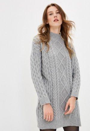 Платье Weekend Max Mara OIDIO. Цвет: серый