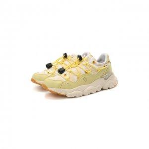 Кроссовки Naturino. Цвет: жёлтый