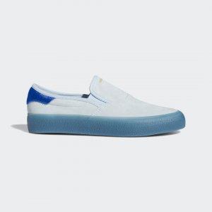Кроссовки-слипоны 3MC Originals adidas. Цвет: золотой