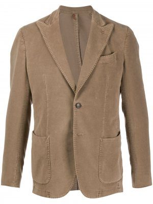 Delloglio фактурный пиджак Dell'oglio. Цвет: нейтральные цвета