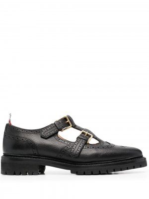 Туфли монки John Thom Browne. Цвет: черный