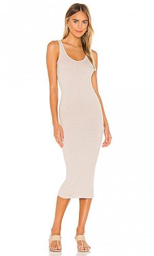 Платье Enza Costa. Цвет: беж